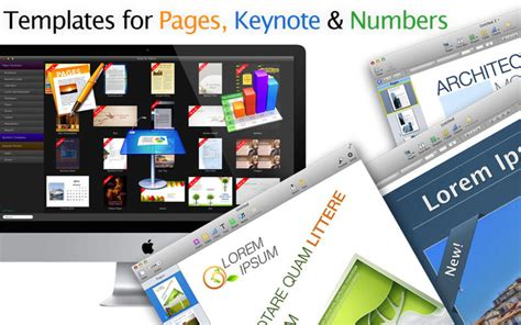 suite for iwork themes for keynote templates for pages