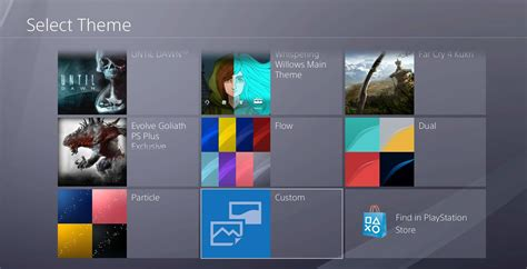ps4 background themes how to set a custom theme as your ps4 wallpaper