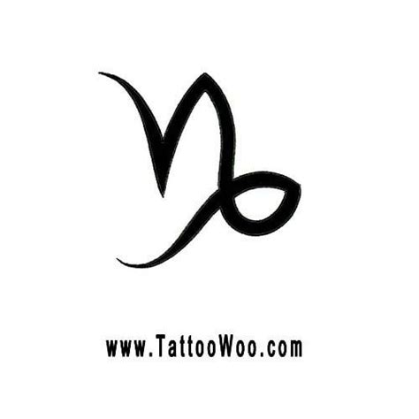 capricorn symbol tattoo tattoo collections