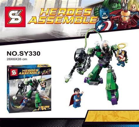 Bricks Lego Heroes Assemble Heroes Sy330 sy330 building blocks heroes 2 age of
