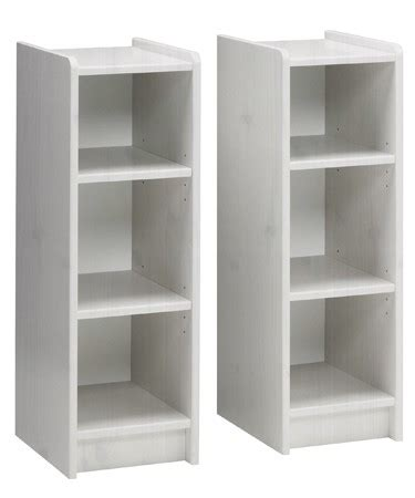 steens whitewash pine bookcases