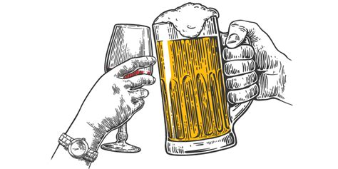 beer cartoon transparent the ideal wine for every kind of beer lover vinepair