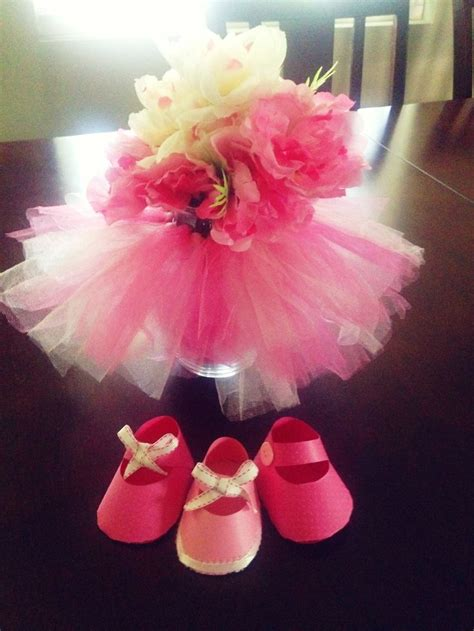 Tutu Centerpieces For Baby Shower by Tutu Vase Centerpiece For A Baby Shower S Baby