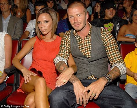 celebrity couples out of their league happy anniversary posh and becks femail celebrates 15