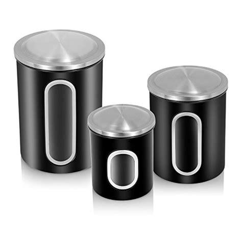 kitchen canister sets black 2018 top 25 for best food storage canister