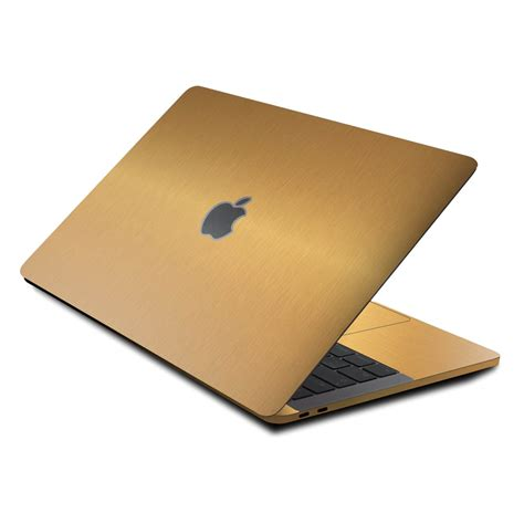 Dijamin Gold Macbook Pro 15 macbook pro 13 quot 2017 touch bar skins and wraps xtremeskins