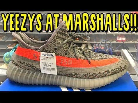yeezy v2 found at marshalls sneaker shopping in the usa