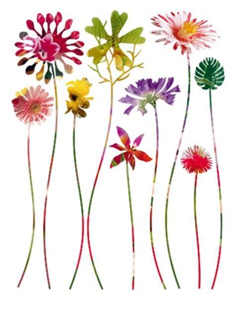 blumen fantasy wildblumen sticker online im shop von