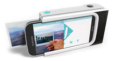 a polaroid style phone case can print selfies in under a