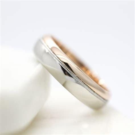 Two Metal Wedding Rings by Wedding Rings Hart