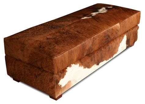 hide bench 970 bench leather ottoman leather creations furniture