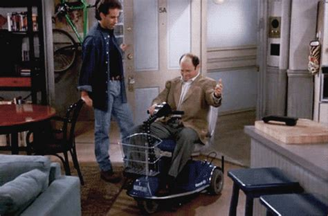 george costanza bathroom ohio man in motorized wheelchair leads cops on dangerously