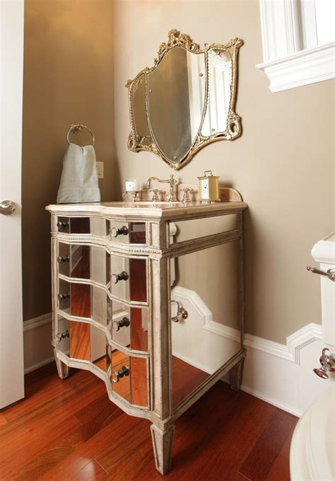 traditional bath with an elegant vanity traditional french country vanity bathroom traditional with classic