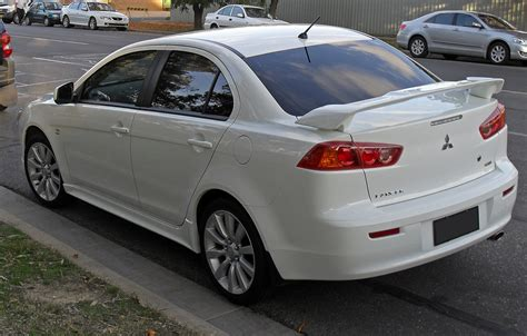 lancer mitsubishi 2008 file 2008 09 mitsubishi lancer vrx rear view jpg wikipedia
