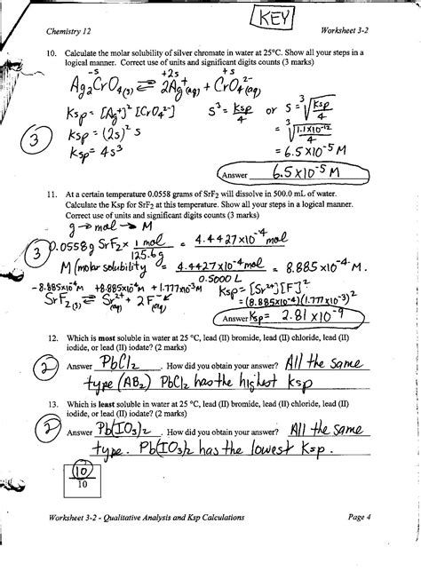 titration problems worksheet