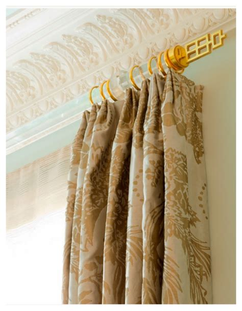 asian inspired curtains lucite curtain rods nomad luxuries