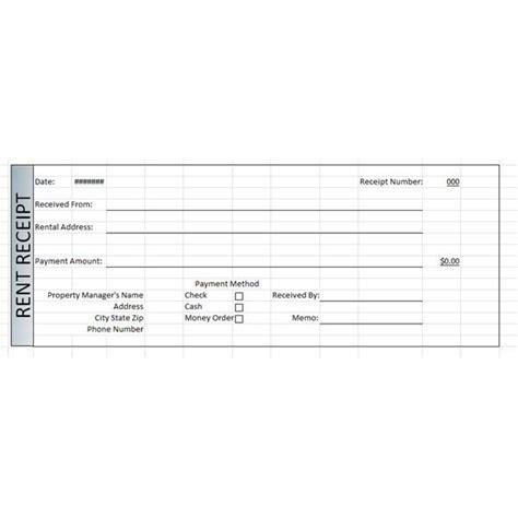 rental receipt template opnlp co