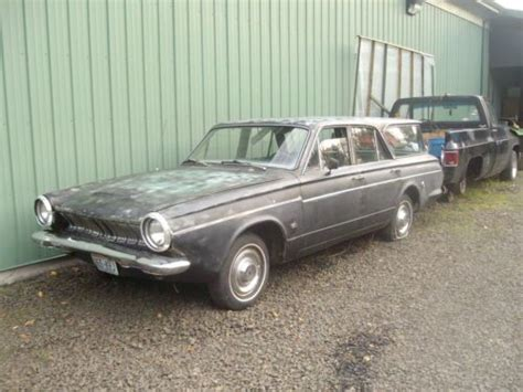 63 dodge dart gt buy used 66 dodge wagon with 63 dart gt frount clip in