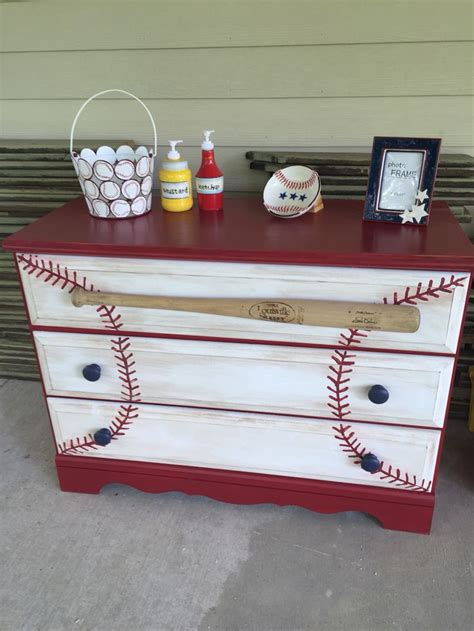25 best ideas about baseball dresser on boys