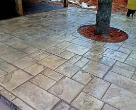images stamped concrete patio: stained stamped concrete patio little rock arkansas north little rock