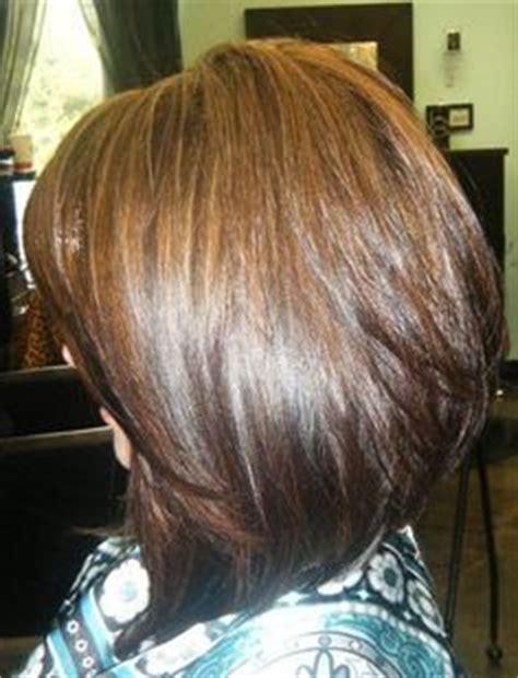 medium length swing bob shoulder length s stacked bob short hairstyle 2013