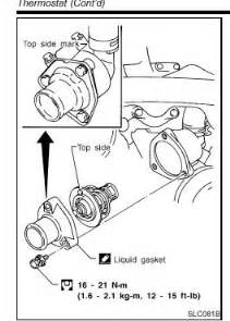 2003 Nissan Altima Thermostat Nissan Pathfinder Thermostat Location 3 5 Liter Get Free