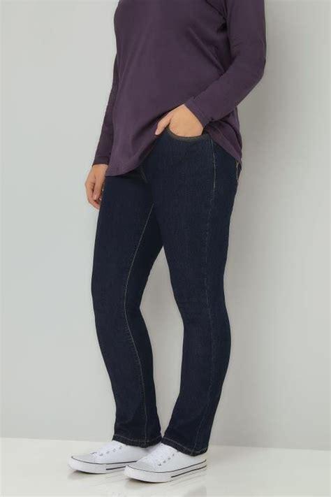 Leg 200 Medium Size Ekman Grab Sler Bottom Grab Sler indigo pull on leg ruby plus size 14 to 28