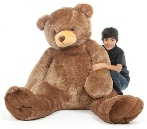 big teddy sweetie tubs 65 quot mocha brown size teddy