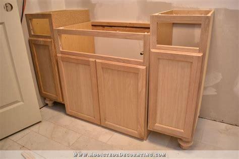 Awesome Furniture Style Bathroom Vanity #2: Furniture-style-bathroom-vanity-from-stock-cabinets-11.jpg