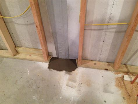 Sealing Cracks In Concrete Basement Floor by Woods Basement Systems Inc Basement Waterproofing