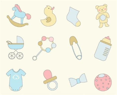 Home Design Application Download by Free Cartoon Baby Toy Icon Set Vector Titanui