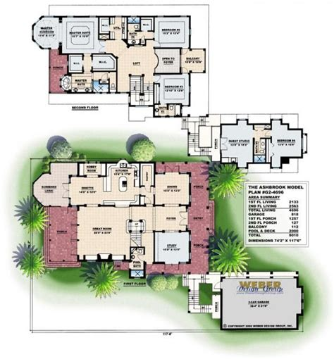 florida home designs floor plans 50 best olde florida style home plans images on