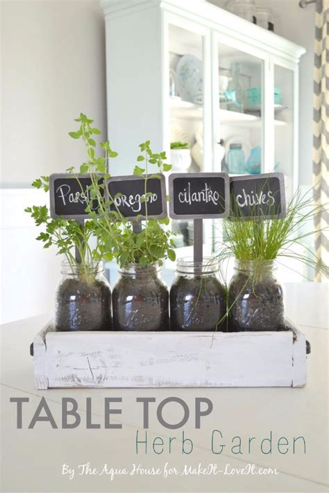 table top herb garden 34 creatively thoughtful diy mother s day gifts sister