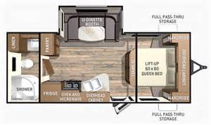 finder rv floor plans trailers travel trailers cruiser rv fun finder 214wsd 2016 horizon lussier