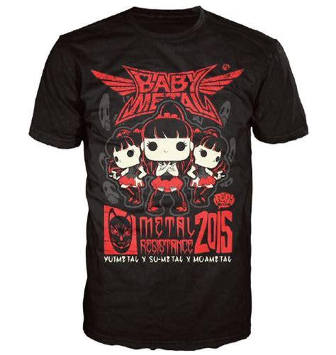 Hoodie Baby Metal Hitam babymetal rock poster pop t shirt black merchandise zavvi