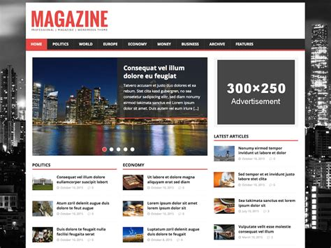 template free themes 25 best free news magazine themes 2017