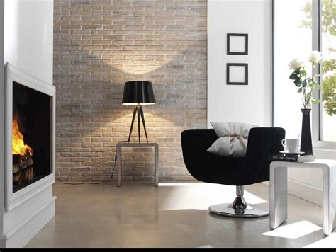 home interior wall be inspired industrial glamour exposed brick panels