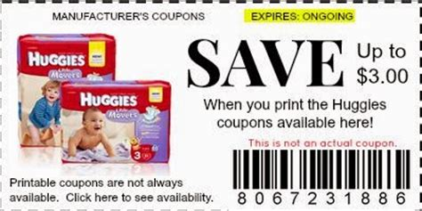 printable diaper coupons september 2015 free huggies dry diapers coupons printable coupons online