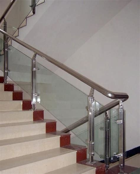 Indoor Handrails For Stairs stainless steel handrail indoor stainless steel stair handrail interior stair railings in