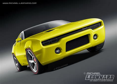 2020 Plymouth Roadrunner by From To Reality Plymouth Road Runner Concept
