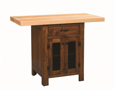 amish furniture kitchen island amish kitchen island with vegetable storage