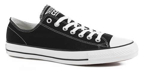converse chuck all pro skate shoes black