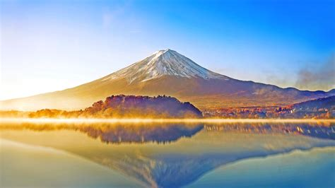 wallpaper 4k japan wallpaper mount fuji lake kawaguchiko japan hd 4k