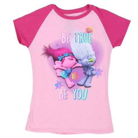 Tshirt Be True be true be you trolls pink shirt trolls clothes