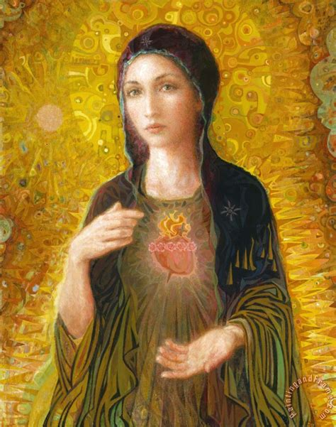 immaculate heart of mary others immaculate heart of mary art painting for sale