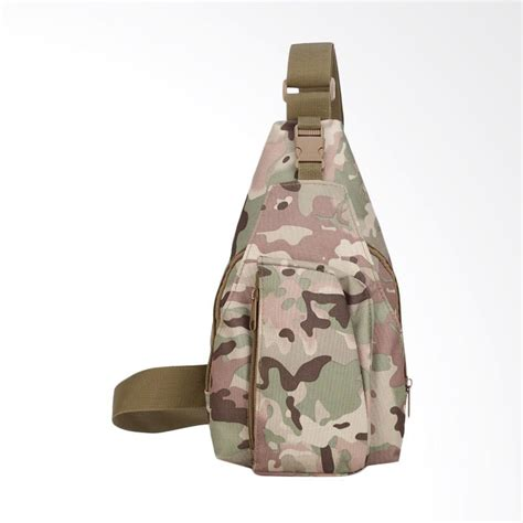 Tas Selempang Army Loreng Pria jual army crossbody bag slingbag tas selempang pria hijau loreng harga kualitas