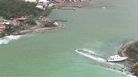 crash boat beach post hurricane uscg helicopter video of st thomas after hurricane irma