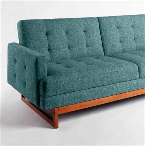 teal sleeper sofa sofa interior design by room fu knockout interiors