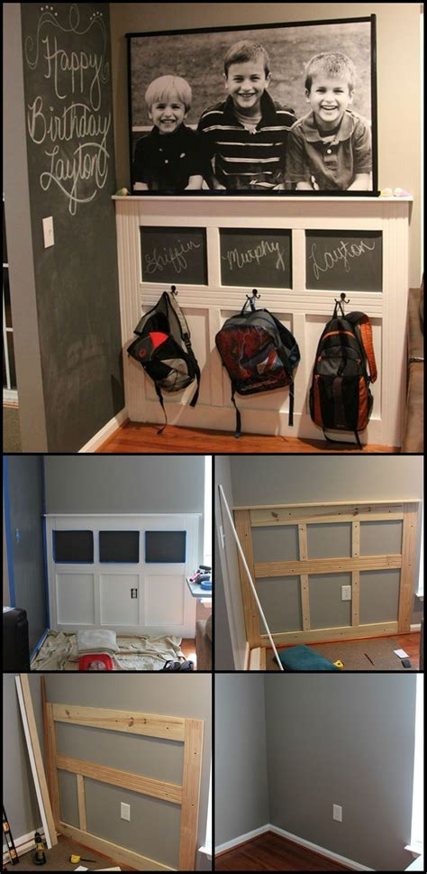 backpack rack for home how to build a backpack station keeping the school stuff
