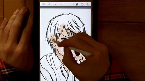 How To Draw Character Illustration With Galaxy Note 3 8